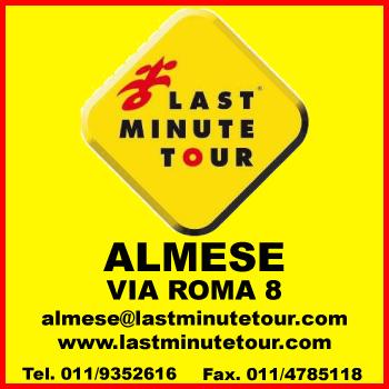 LAST MINUTE TOUR ALMESE